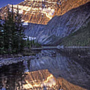 Mt Edith Cavell Reflection Poster