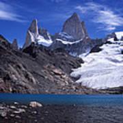 Mt Fitzroy And Laguna De Los Tres Poster