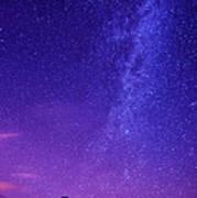 Mt. Hood Milky Way 01 Poster