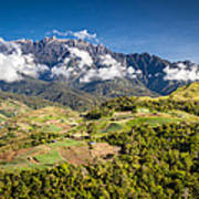Mt. Kinabalu - The Highest Mountain In Borneo Poster