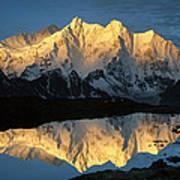 Mt Makalu And Mt Chomolonzo Poster