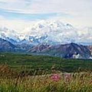 Mt. Mckinley Denali National Park Poster