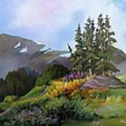 Mt. Rainier 2 Poster