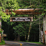 Mt Rainier Gateway Poster