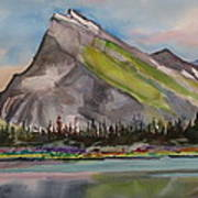 Mt. Rundle Poster