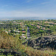 Mt. Soledad - View To The South Poster