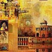 Mughal Art Poster