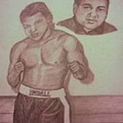 Muhammad Ali Poster by Christy Saunders Church