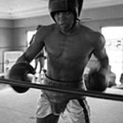 Muhammad Ali Works Out  Poster by Retro Images Archive