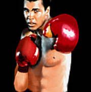 Muhammed Ali Poster by Jann Paxton
