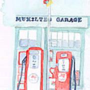 Mukilteo Garage Poster