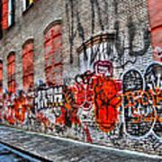 Mulberry Street Graffiti Poster