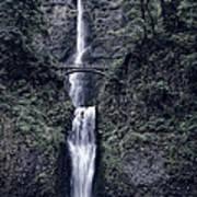 Multnomah Falls - Columbia Gorge - Oregon State Poster