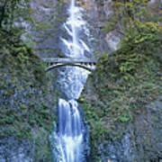 Multnomah Falls Columbia River Gorge Poster