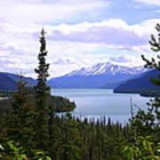 Muncho Lake View Poster