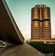 munich - BMW office - vintage Poster