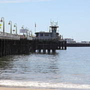 Municipal Wharf At The Santa Cruz Beach Boardwalk California 5d23767 Poster