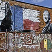 Mural And Graffiti Poster