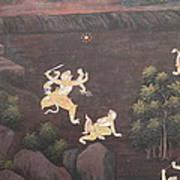 Mural - Grand Palace In Bangkok Thailand - 011312 Poster