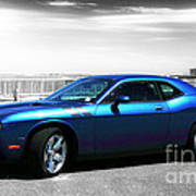 Muscle Car Fusion Poster