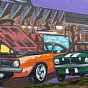 Muscle Cars Poster
