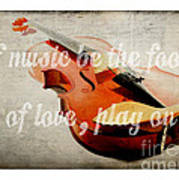 Music Lover Card Poster