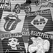 Music Street Art Poster by Luciano Mortula