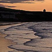 Mussenden Sunset Poster