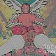 My Angel - Eglise De Sainte Anne - Church - Ile De La Reunion - Reunion Island Poster by Francoise Leandre
