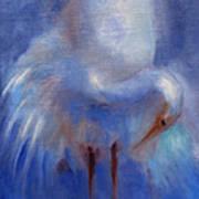 My Fair Egret Poster by Susan Hanlon