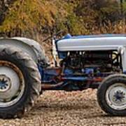 My Faithful Tractor Poster