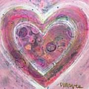 My Glittering Heart Poster