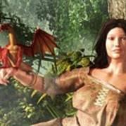 My Little Dragon - Detail Poster