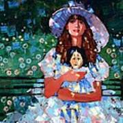 My Pierrot Poster by Anastasija Kraineva