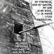 My Rock And Fortress Poster
