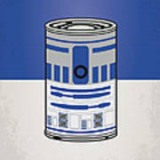 My Star Warhols R2d2 Minimal Can Poster Poster