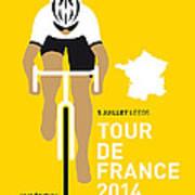 My Tour De France Minimal Poster 2014 Poster