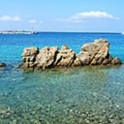 Mykonos Blue Aegean Poster