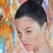 Myra Molloy Winner Of Thailand Got Talent II Poster by Jim Fitzpatrick