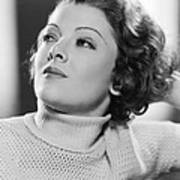 Myrna Loy, Mgm Portrait, Early 1930s Poster