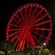 Myrtle Beach Sky Wheel Poster