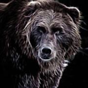 Mystical Bear Poster