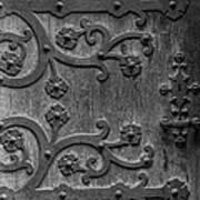 Mystical Door Poster