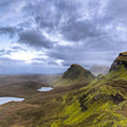 Mystical Landscape On Skye Poster