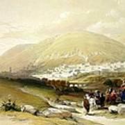 Nablus Old Shechem Poster
