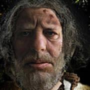 Nafets Neandertal Poster by Nafets Nuarb