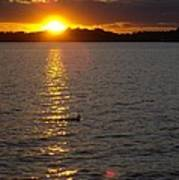 Namakagon Sunset Poster