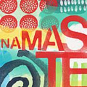 Namaste- Contemporary Abstract Art Poster