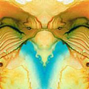 Namaste - Divine Art By Sharon Cummings Poster