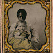 Nanny And Child, C1855 Poster